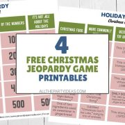 Christmas Jeopardy Questions & Answers - Free Game Printable