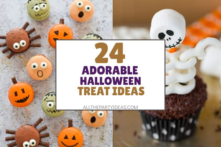adorable and cute halloween treat ideas
