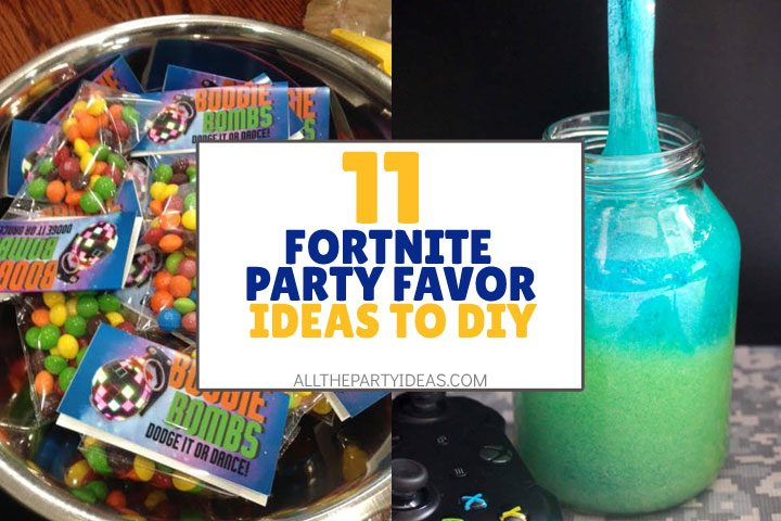 fortnite party favor ideas to diy