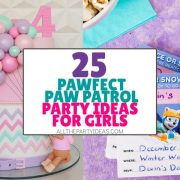 How to Plan a Paw Patrol Party for Girls: DIY Ideas