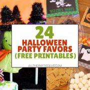 DIY Halloween Party Favors - Treats, Snacks, Fruit, Non-Food Ideas