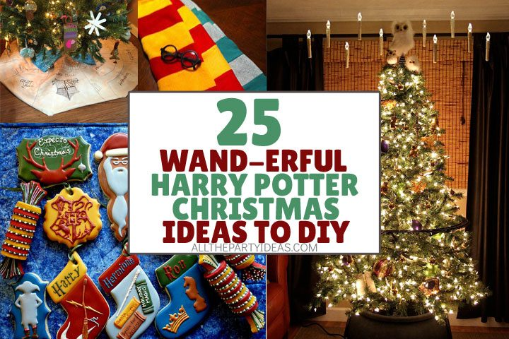 wand-erful harry potter christmas ideas to diy