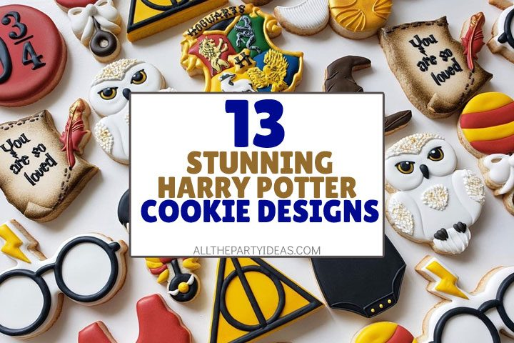 stunning harry potter cookie designs