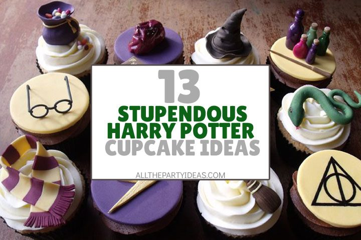 stupendous harry potter cupcake ideas