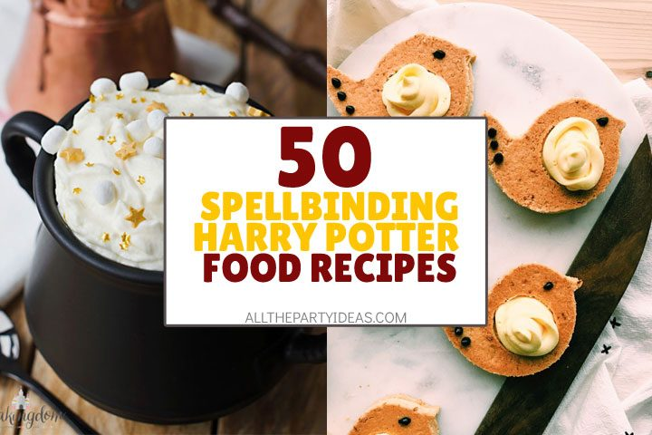 spellbinding harry potter food recipes