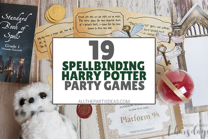 spellbinding harry potter party games
