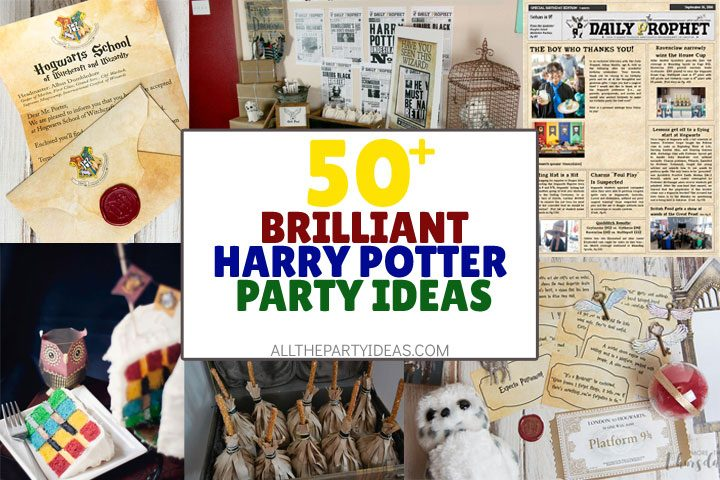50 Creative Harry Potter Party Ideas Free Printables