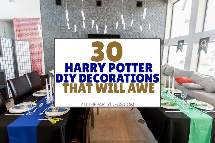 30 Diy Harry Potter Party Supplies Decoration Ideas Free Printables