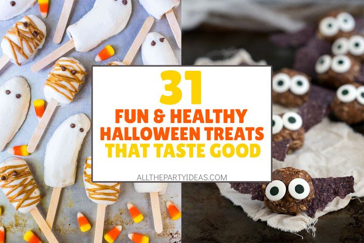 fun, healthy halloween treats and food recipes that taste good
