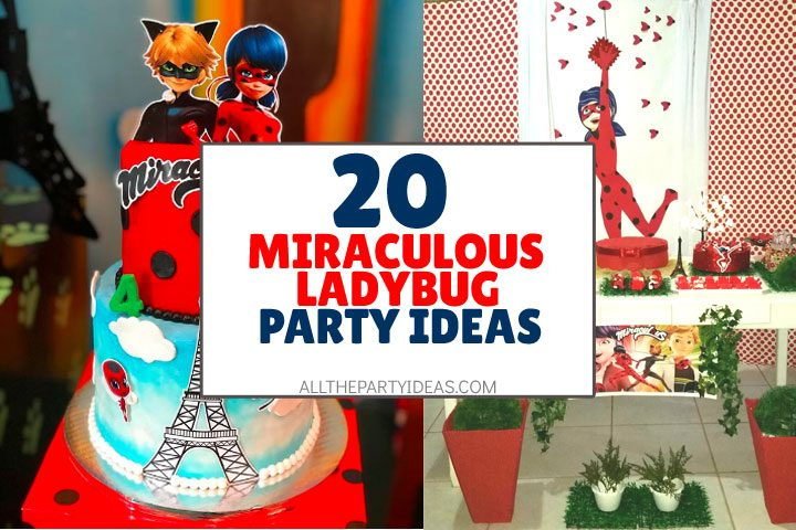 miraculous ladybug party ideas