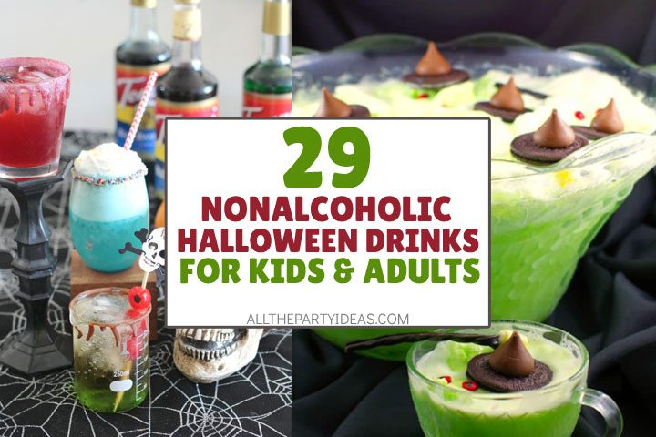 non alcoholic halloween drinks for kids and adults