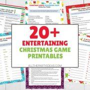 Christmas Game Printables - Bingo, Trivia, Charades & More