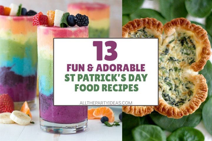fun and adorable st patrick's day food recipes