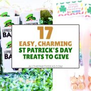 St. Patrick's Day Treats for School or Coworkers