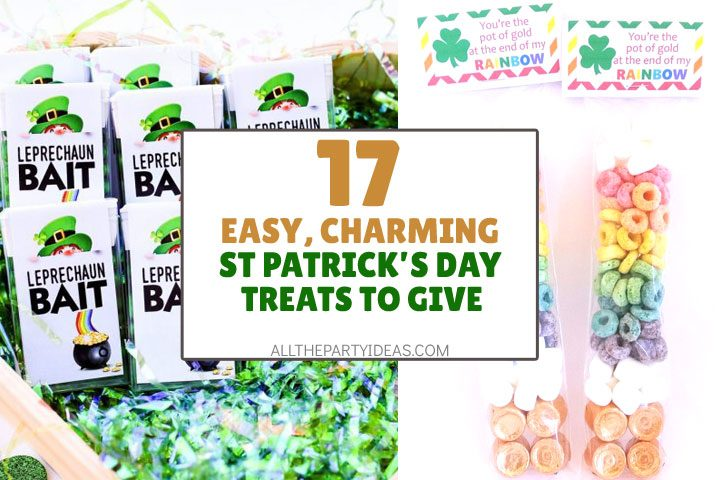 easy, charming st patricks day treats to give