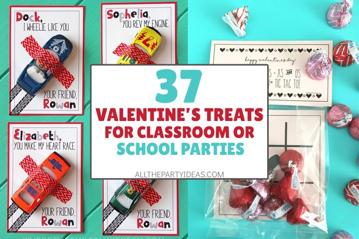 valentine's treats for classroom or school parties