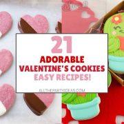 Valentine Cookies & Decoration Ideas - Recipes, Tutorials, Tips
