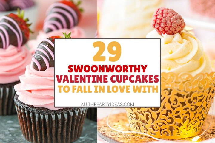 swoonworthy valentine's cupcakes to fall in love with